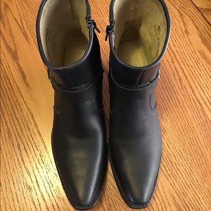 Durango Black Leather Boots - 8M
